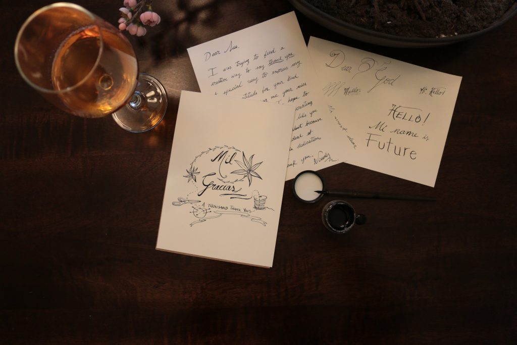 Thought and Budget Gift Ideas For teachers thank you letter